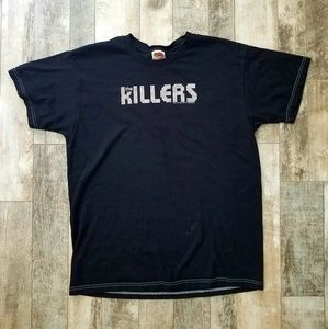 The Killers 2004 Black band T-shirt  size L